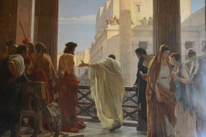 Famous paintings of Christianity: Ecce Homo