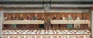 Reproduction oil paintings - Domenico Ghirlandaio - Last Supper