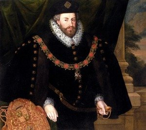 Famous paintings of Men: Portrait Of Sir Christopher Hatton