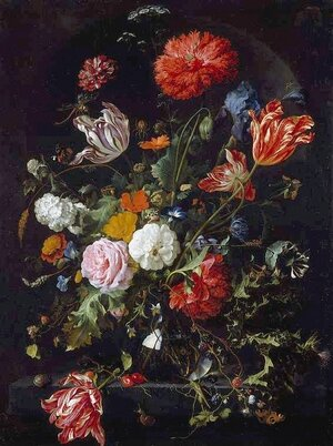 Reproduction oil paintings - Jan Davidsz. De Heem - Flower Piece