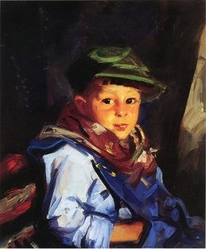 Reproduction oil paintings - Robert Henri - Boy with a Green Cap (or Chico)