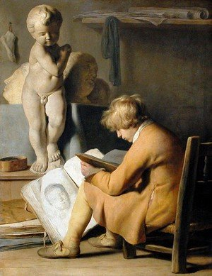 Reproduction oil paintings - Jan Lievens - The Young Artist