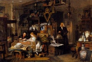 Famous paintings of Teapots: The Old Curiosity Shop