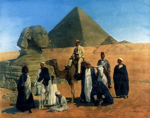 Famous paintings of Camels: In Search Of The Pharaohs