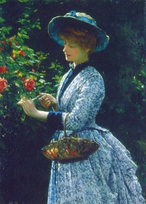 Robert James Gordon reproductions - Pruning Roses