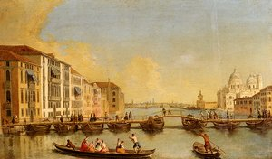 View Of The Grand Canal And Santa Maria Della Salute, Venice