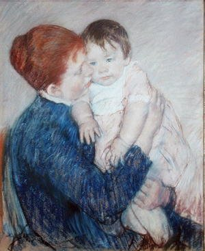 Neo-Classical painting reproductions: Agatha and Her Child, 1891