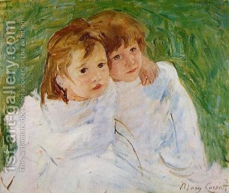 Mary Cassatt: The Sisters, c.1885 - reproduction oil painting