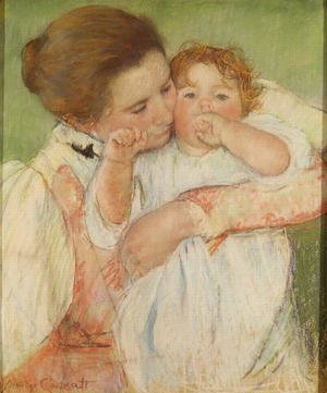 Neo-Classical painting reproductions: Mother and Child, 1897