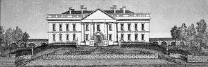 The White House in 1820