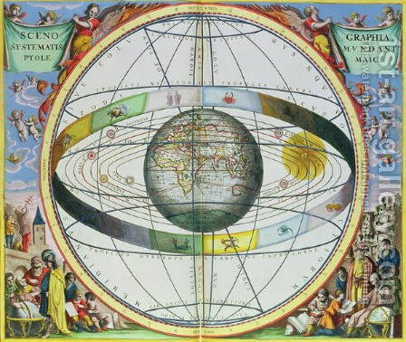Map of Christian Constellations, from 'The Celestial Atlas, or The Harmony of the Universe'