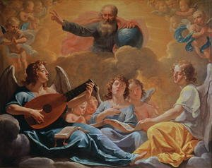 Reproduction oil paintings - Philippe de Champaigne - A Concert of Angels