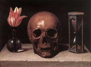 Reproduction oil paintings - Philippe de Champaigne - Vanitas Still Life with a Tulip, Skull and Hour-Glass