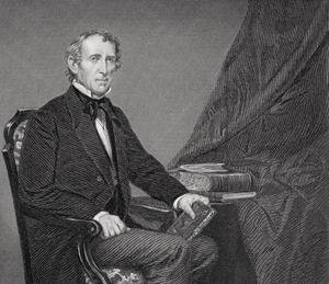 Reproduction oil paintings - Alonzo Chappel - Portrait of John Tyler (1790-1862)