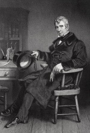 Reproduction oil paintings - Alonzo Chappel - Portrait of William Henry Harrison (1773-1841)