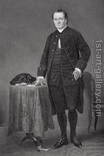 Roger Sherman (1721-93) by Alonzo Chappel - Reproduction Oil Painting