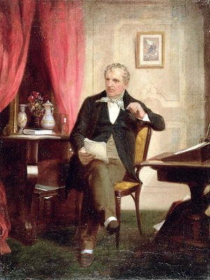 Famous paintings of Furniture: James Fenimore Cooper (1789-1851)