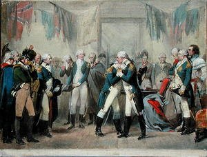 Reproduction oil paintings - Alonzo Chappel - Washington's Farewell to his Officers