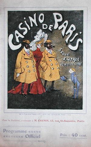 Famous paintings of Sport and Games: Official Programme for the Casino de Paris, 1906