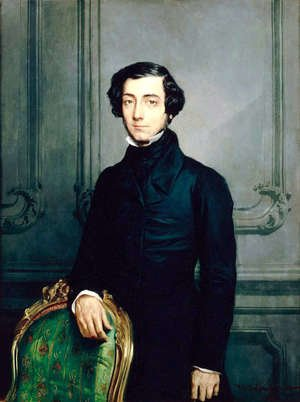 Famous paintings of Men: Charles-Alexis-Henri Clerel de Tocqueville (1805-59) 1850