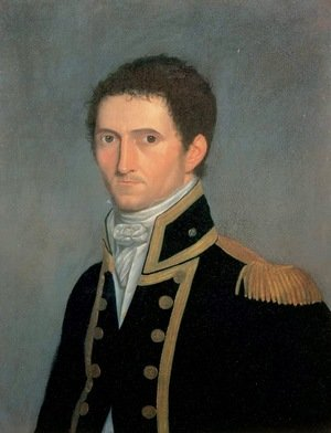 Famous paintings of Men: Portrait of Captain Matthew Flinders, RN, 1774-1814, 1806-07
