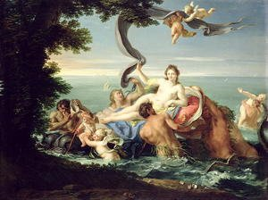 Reproduction oil paintings - Giuseppe Chiari - The Triumph of Galatea