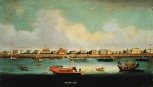 Famous paintings of Harbors & Ports: Shanghai, China