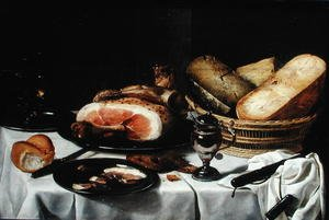 Still Life with Ham (3)