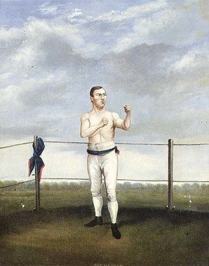 Famous paintings of Boxing: Mike Madden