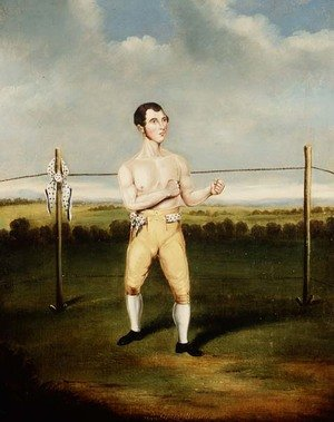 Famous paintings of Sport and Games: Owen Swift `The Wonder'