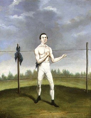 Famous paintings of Sport and Games: Hoyles the `Spider Champion of the Feather Weights'
