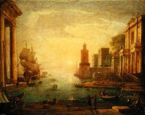Famous paintings of Harbors & Ports: The Grand Canal, Venice