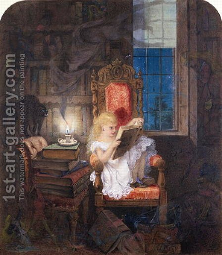Wonderland by Adelaide Claxton - Reproduction Oil Painting