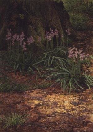 Reproduction oil paintings - Edward Clifford - Bluebells