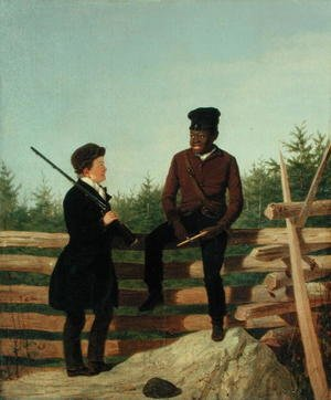Famous paintings of Palisades: Which Way Shall We Go, 1850
