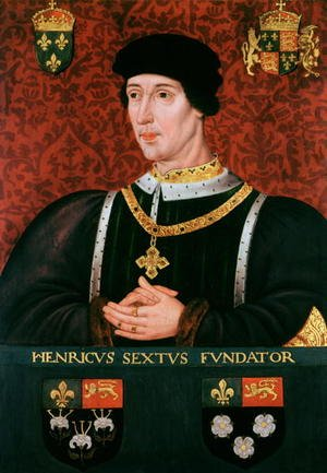 Mannerism painting reproductions: Portrait of Henry VI of England (1421-71)