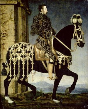Mannerism painting reproductions: Henri II of France (1519-59)
