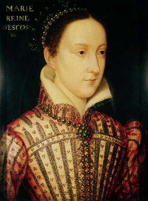Mannerism painting reproductions: Miniature of Mary Queen of Scots, c.1560