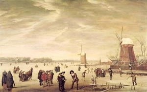 Famous paintings of Sport and Games: Games on the Ice