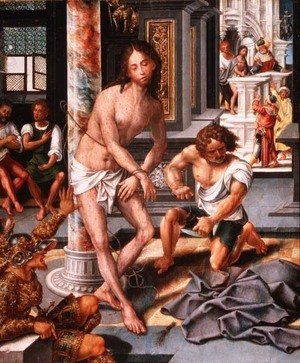 Famous paintings of Knights & Warriors: The Flagellation