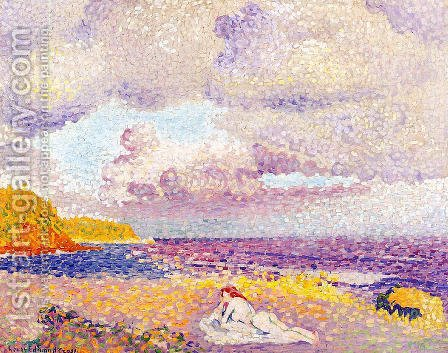An Incoming Storm, 1907-08 by Henri Edmond Cross - Reproduction Oil Painting