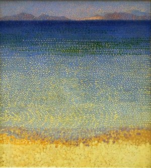 Pointillism painting reproductions: The Iles d'Or (The Iles d'Hyeres, Var), c.1891-92