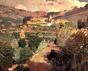 Reproduction oil paintings - Santiago Rusinol i Prats - Soller, Majorca