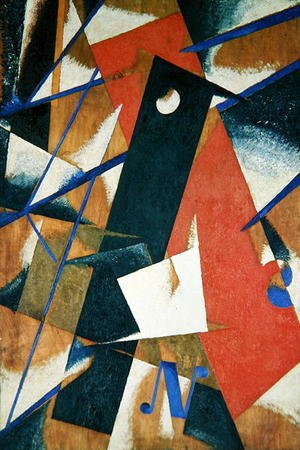 Futurism painting reproductions: Spatial Force Construction, 1921