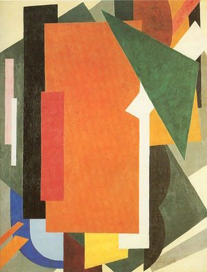 Futurism painting reproductions: Painterly Architectonics, 1916-17