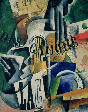 Futurism painting reproductions: Italian Still Life, 1914