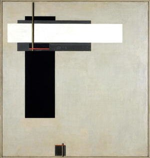 Constructivism painting reproductions: Composition Proun GBA 4, c.1923