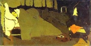 Nabis painting reproductions: Sleep. c. 1891
