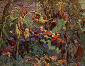 Group of Seven painting reproductions: Tangled Garden