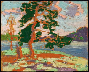 Group of Seven painting reproductions: The Pine Tree